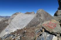 Depuis le Tapou, versant Sud du Cerbillona (3247m)