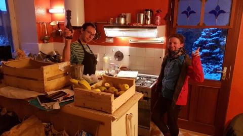 Pascalou en cuisine