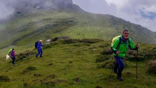 montée au Soum d'Andorre