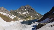 le Lurien domine le lac d'Arrious