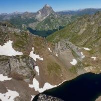 Ossau depuis le pic du Lac d'Arrious