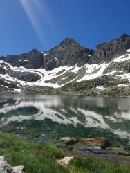 Arriel depuis le lac d'Arrémoulit