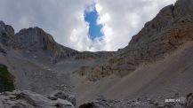 mallo de Acherito depuis le col de la Chourique
