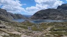 lac de Bachimaña alto
