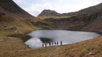 lac d'Uzious : contemplation