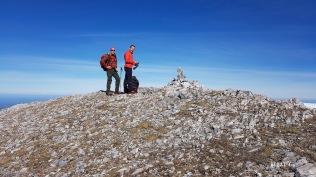 sommet du Montcouges : Didier & André