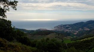 J1 - grisaille sur une Méditerranée qui devrait être scintillante ! No luck.