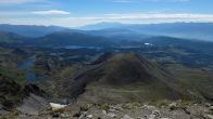 J 11 - depuis le Carlit, le lac des Boulliouses et au loin le Canigou