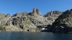 J 23 -entrée aux Encantats par le lac d'Amitjès