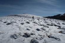 au-dessus du col d'Espade