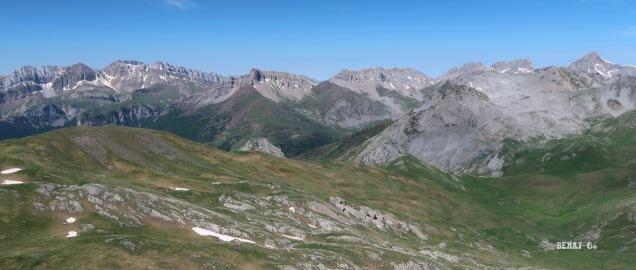 Aragon à gauche, Navarre à droite