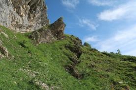 passage clef pour grimper sur les pentes de l'Escala
