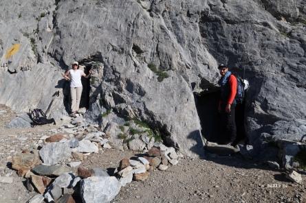 entrée des Grottes Bellevue