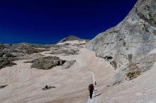 un glacier couleur Sahara